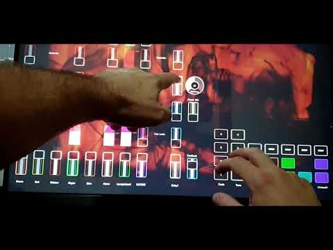 SUBSET - dubbing on the touch screen